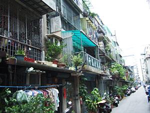 台湾の住宅街